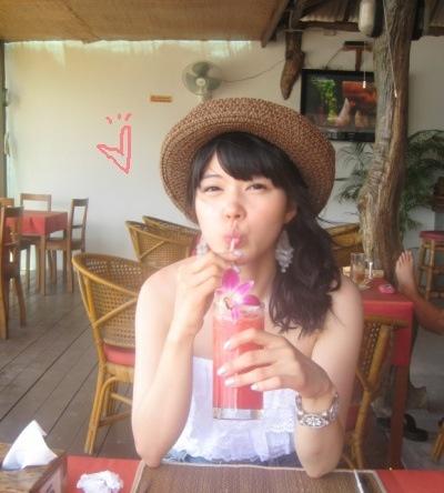 Watermelon juice is very very sweet  @kosamui, thai