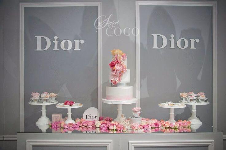Miss Dior First Birthday Theme