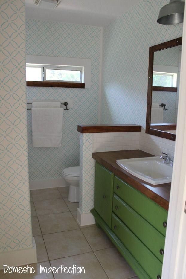 Best 25+ Bathroom stencil ideas on Pinterest Stencil wood - badezimmer qualit amp auml t