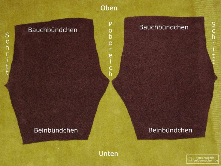 Pumphose - Anleitung - Schnittmuster - 07