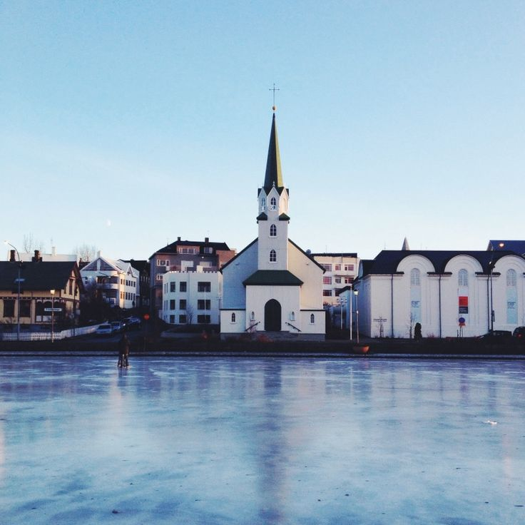Im an atheist but I like church architecture.   #reykjavik #iceland #winter - Sig Vicious