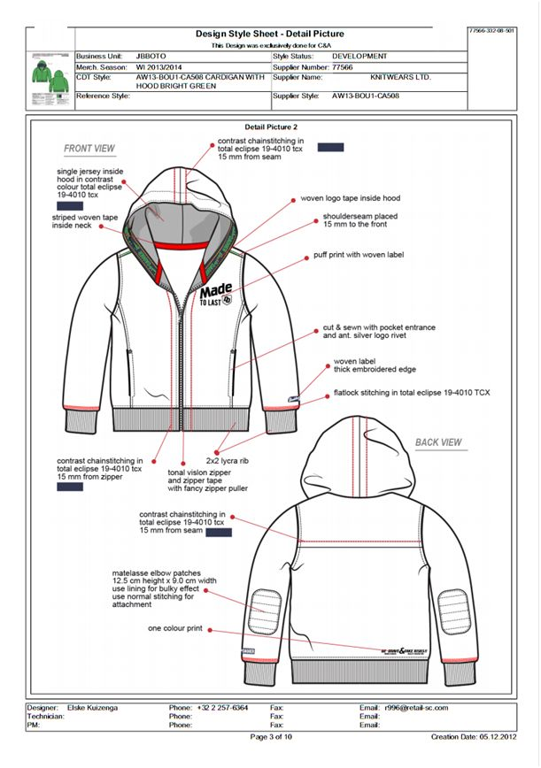 Techpack   Garments Techpack   How to Create a Techpack
