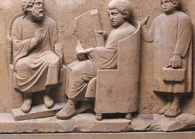Roman Education was important to the Romans and the rich valued education while the poor did not get a proper education. Some kids went to a school while some kids parents hired a private tutor.