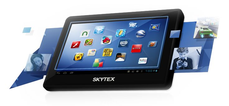 "The SKYTEX SKYPAD SP458 4.3"" Pocket Tablet is a mini powerhouse on the go. Fast & compact SKYPAD 458 run on Android 4.1 OS, supported by 1.2GHz processor & graphically enhanced with Mali-400MP GPU and 512MB DDR3 RAM that is great for video playback, picture viewing & emailing with just a swipe across its 4.3"" 480x272 Capacitive Touchscreen. It comes with 8GB memory with an expandable MicroSD card slot up to 32GB. It comes with dual VGA front & rear camera & pre-loaded apps. #skypad #tablet…"