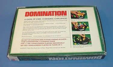1982 Domination game by Milton Bradley | Neighborhood Values Toys & Games