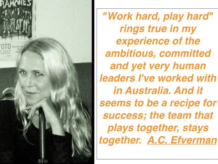 A.C. Efverman talks about @Australian Leadership. http://australianleadership.blogspot.com.au/2017/04/ac-efverman-on-australian-leadership.html