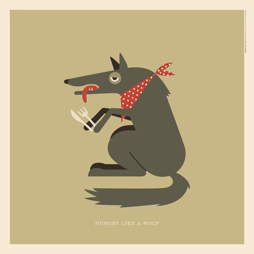 """Duran Duran's """"Hungry Like a #Wolf""""   An Illustrated Guide To Every Animal In Rock Music   Co.Design   business + design"""