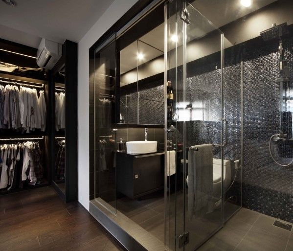 Masculine Master Baths: Best 25+ Modern Luxury Bathroom Ideas On Pinterest