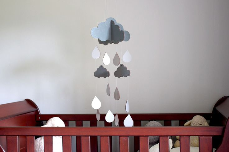 Our beautiful grey Raindrop Mobiles are now available for baby's room! R499.00 https://www.oheka.co.za/products/wooden-raindrop-mobile-grey