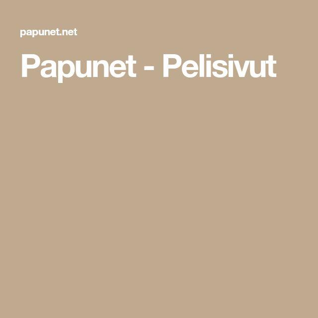 Papunet - Pelisivut