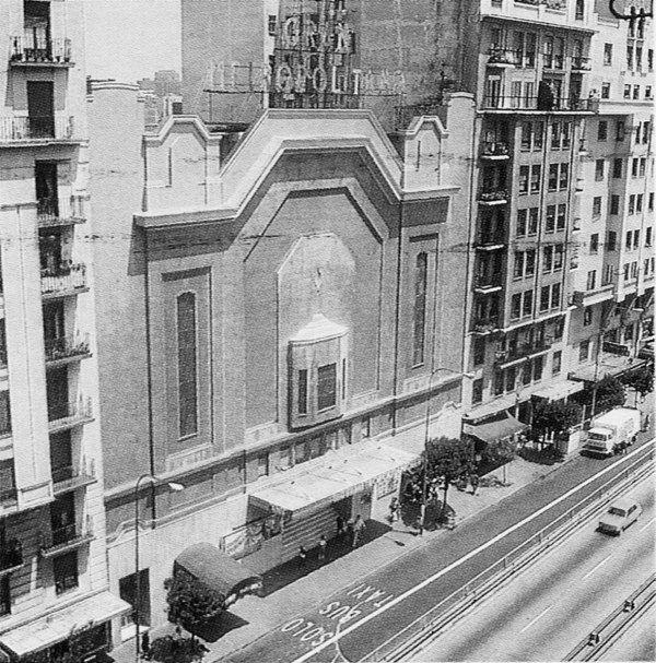 35 best images about madrid antiguo cines teatros on for Villas victoria los ayala