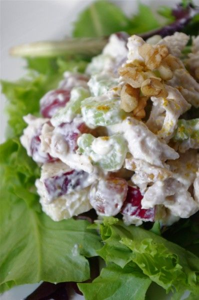 beats products Skinny Chicken Waldorf Salad  recipes