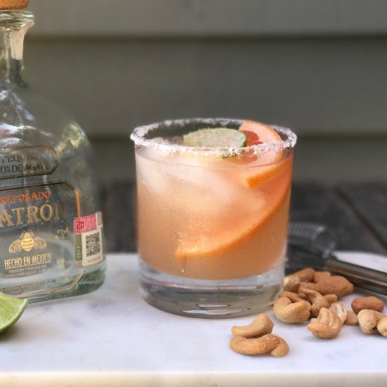 A delicious tequila based cocktail that is light, refreshing and even better than a margarita.