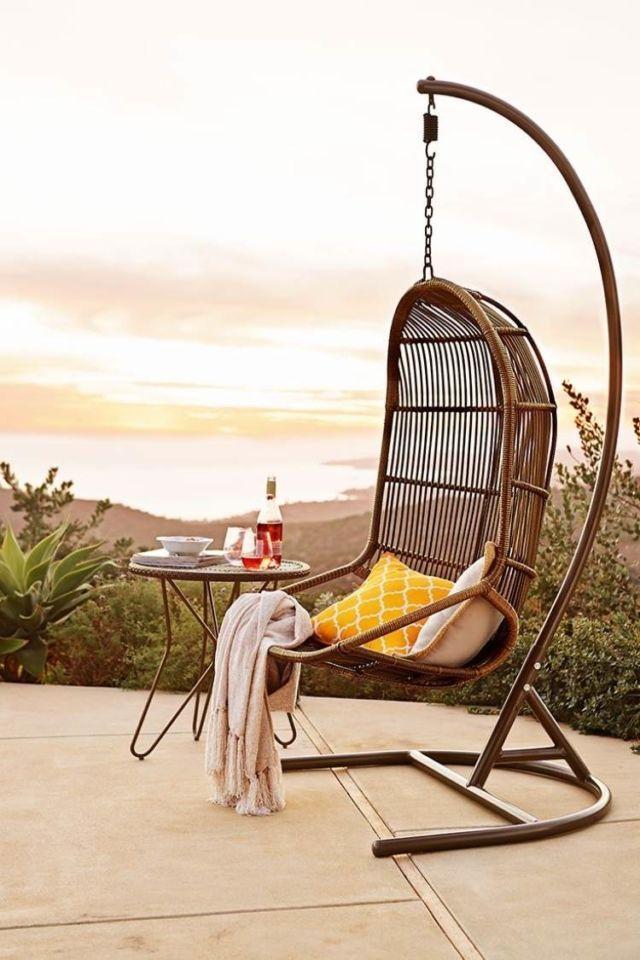 Sehen Sie Sich Diese Tollen Terrassengestaltung Ideen Mit Hängesesseln An  Und Lassen Sie Uns Von Urlaub Und Cocktails Träumen. Hängesessel Für Garten  Gibt