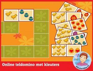 Telmemorie, kleuters op digibord of computer, kleuteridee, Kindergarten educative game for IBW or computer