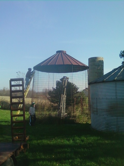 Superb Taking Down The Corn Crib To Move To Our House! Home Design Ideas