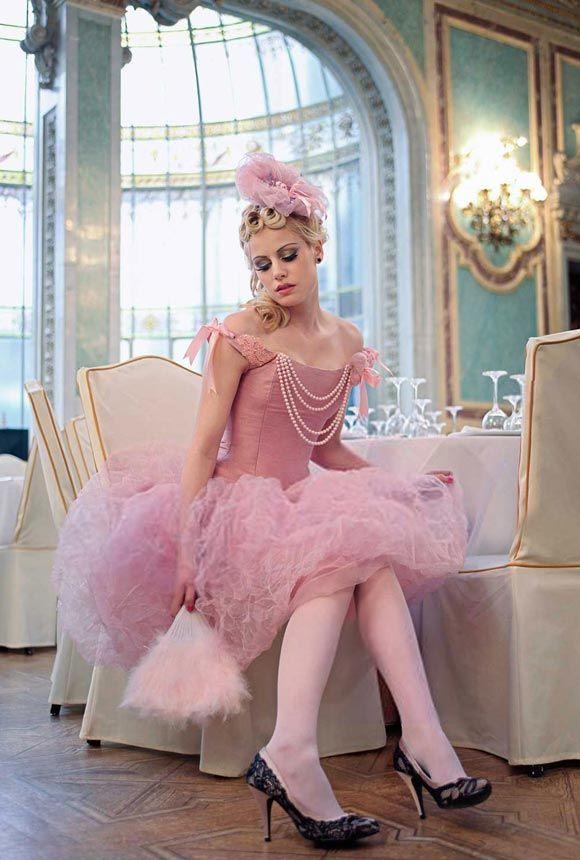 © Maya Hansen - Wild Rose Couture CorsetMaya Hansen, Pink Dresses, Halloween Costumes, Beautiful Dresses, Wild Rose, Pink Fashion, Mary Antoinette, Pretty, Haute Couture