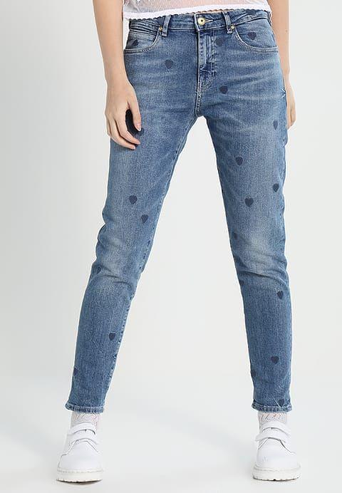 dd6e55baf44 Kleding Scotch & Soda PETIT AMI HEART - Slim fit jeans - indigo Blauw denim/