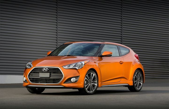 The Veloster is a compact sports car that combines the coupe styling with the functionality of a hatchback. It features the brand's signature hexagonal grille, while the rear has a center-placed dual exhaust. The driver's side only has one door, while there are two on the other. The handle of the rear door was placed on the c-pillar to create a two-door coupe look.   Inside is a four-seater cabin with leather upholstery, automatic climate control, and panoramic sunroof, perfect for the…