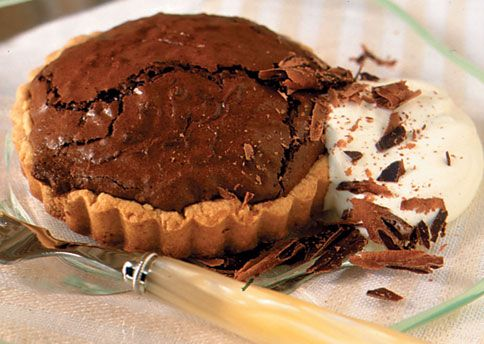 Chocolate-Whiskey Souffle Tarts There's just a wee bit of the favorite ...