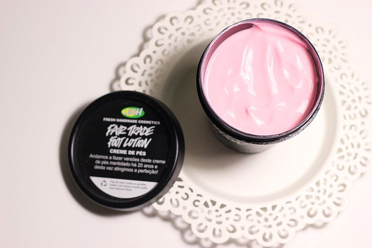Fair Trade Foot Lotion LUSH