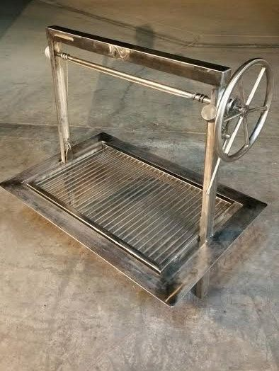These BBQs are unique! I design and build these BBQs with innovation and creativity for my clients to enjoy for years. Each grill is hand made to