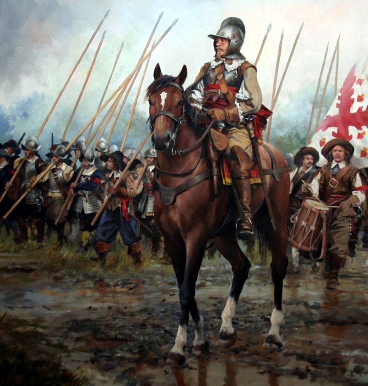 Captain of the Tercios by Augusto Ferrer-Dalmau