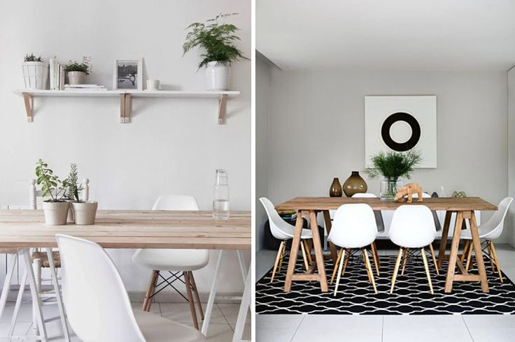 Tipos de mesas de comedor en la decoraci n departamento - Tipos de mesas de comedor ...