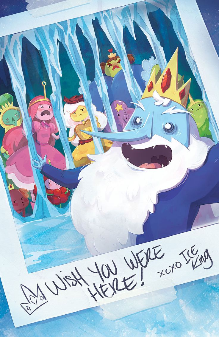 Adventure Time Ice King 2 Of 6