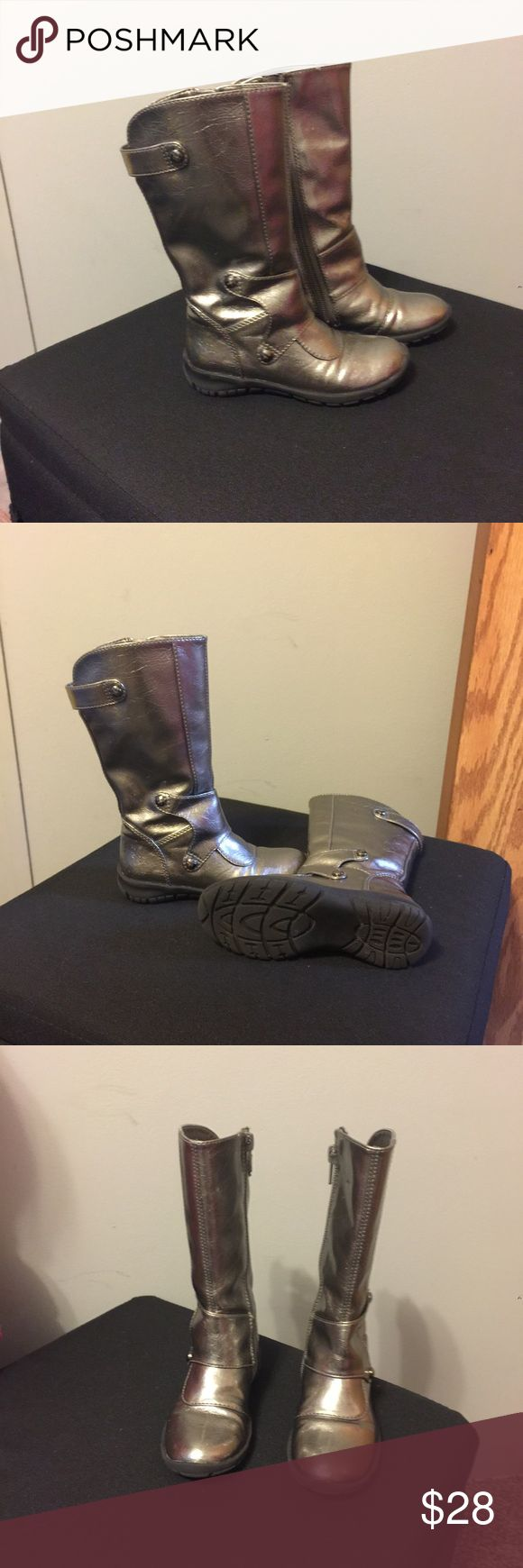 Toddler Nordstrom Boots Size 24-converts to size 7  Like new, tinny cuff on the front of the left boot, unnoticeable.  Fee free to visit my page for more items! Nordstrom Shoes Boots