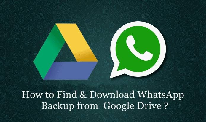 now you can find and download whatsapp backup from google drive easily. people want to download whatsapp chat backup from google drive to pc and access.