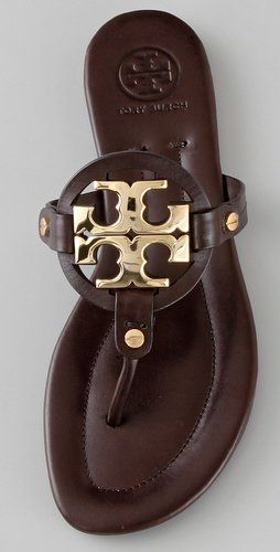 Tory Burch Miller Flat Thong Sandals | SHOPBOP. I think these need to be my next torus:)