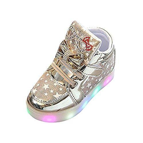 Oferta: 9.99€. Comprar Ofertas de Mariposa LED zapatos niños zapatos ligeros, Stillshine - Girls intermitente deporte Running zapatillas zapatos de bebé de Hal barato. ¡Mira las ofertas!