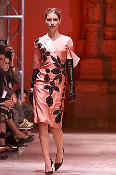 Alexandre Matthieu Spring 2001 Ready-to-Wear