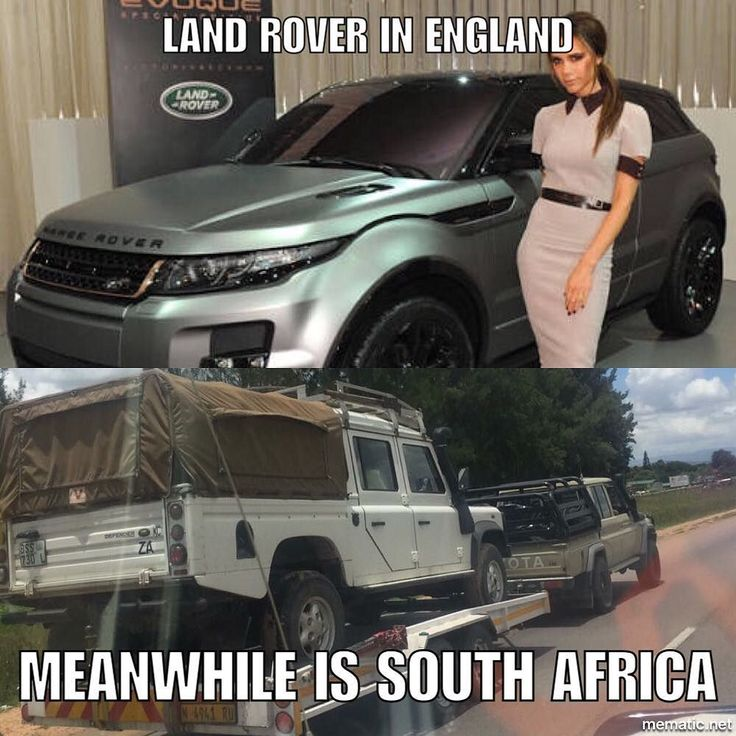 The simple fact of life #landrover #southafrica #england #funnymemes #facts - https://www.instagram.com/p/BPZU2tfjAMB/