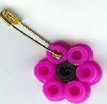 SWAPS for Girl Scouts - Perler Bead flower