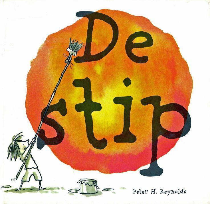 De Stip  Floor denkt dat ze niet kan tekenen. De juf leert haar te beginnen met een stip. Dat wordt een tekenfeest met een echte tentoonstelling!   Vanaf ca. 4 jaar.     Het nieuwe digitale prentenboek wordt gemaakt door Bibliotheek Breda met toestemming van uitgeverij Lemniscaat.