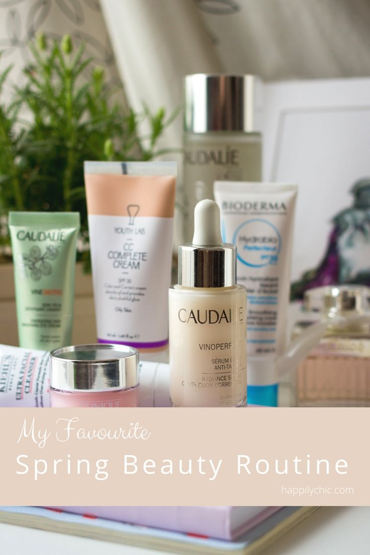 Time for a spring renewal beauty routine!