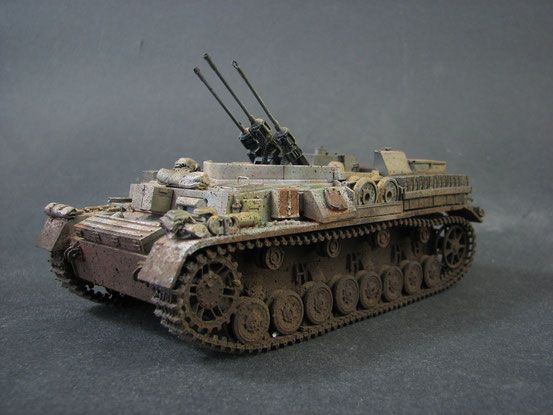 panzer 4 mit drillingsflak tyske modeller ww ll pinterest. Black Bedroom Furniture Sets. Home Design Ideas