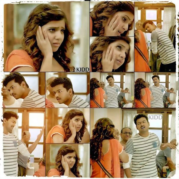 Such A Cute Scene From kaththi !