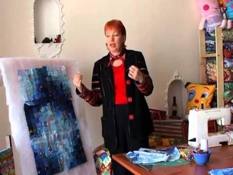 Лоскутное шитье для начинающих. Цвет - YouTube