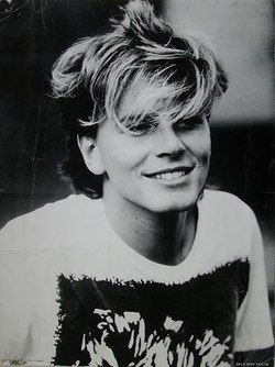John Taylor, 1982 ...How cute is he? One of my fave pix of him, EVER!