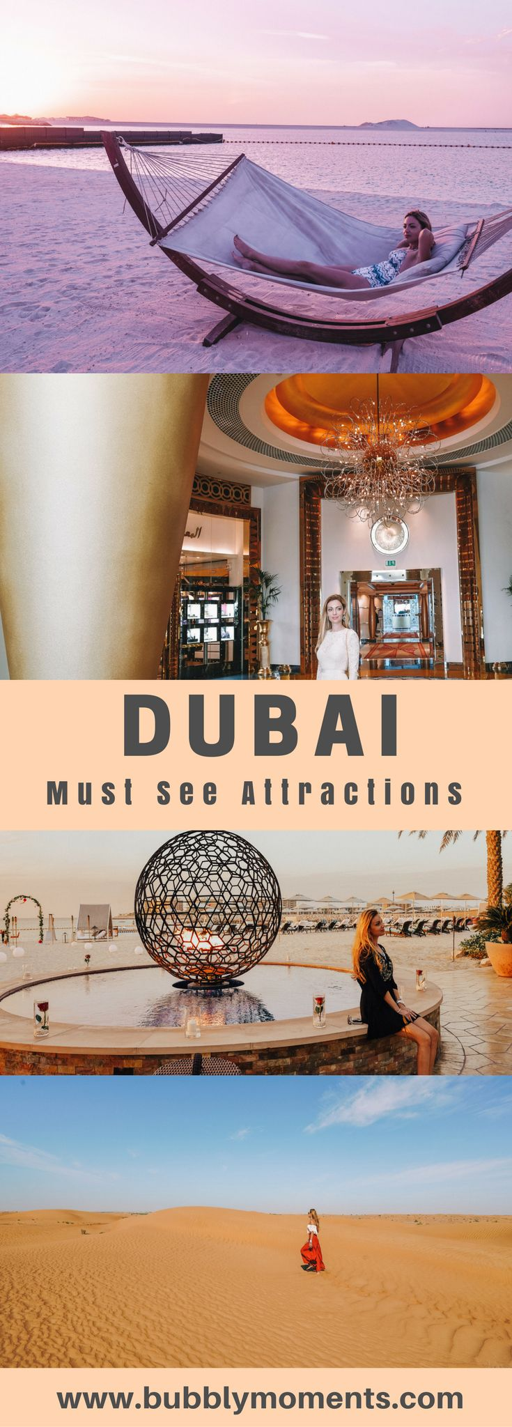 3 Days in Dubai – The Best Spots to See  #Dubai #Dessert #MiracleGarden #BurjKhalifa #ArabianAdventures #Travel #Travelphotography #Bedoins | Travel | Travel Photography | Bubbly Moments | Burj Al Arab | Burj Khalifa | Dubai Marina | Miracle Garden |Things to do in Dubai | Where to go in Dubai | City of Contrasts | Exotic Beaches | Dubai Tourist Attractions | Bubbly Moments