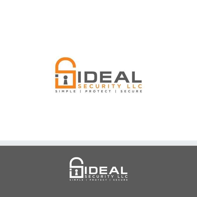 Design a safe, strong, professional logo for Ideal Security by Albarokah Media