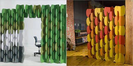 12 Coolest Room Dividers - Oddee.com (room dividers ideas, modern room dividers)