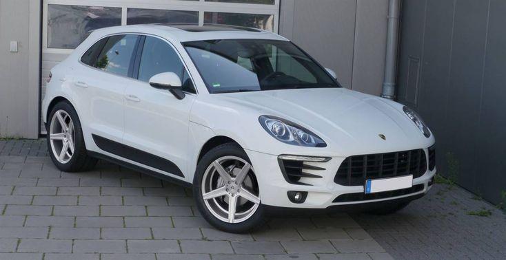 """Porsche Macan winter wheels 20 """"KV1 silver – PIRELLI Scorpion with RDK"""