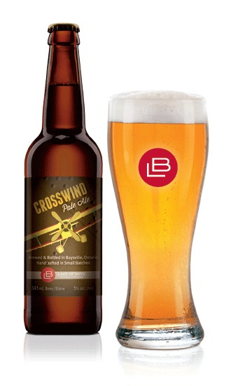Crosswind-bottle-glass by Lake of Bays Brewing Company, via Flickr