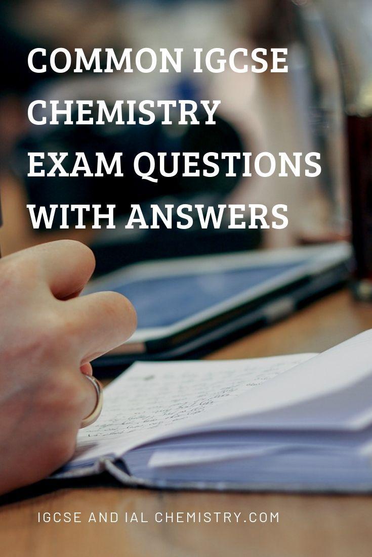 Common Igcse Chemistry Exam Questions With Answers This Or That Questions Chemistry Gcse Chemistry [ 1102 x 735 Pixel ]