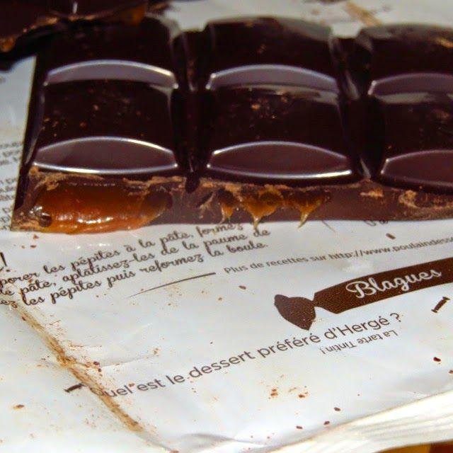 Blog a 4 mains: chocolat Poulain dessert noir extra au carambar #halloween #decoration #diy  #concours #gratuit #free #test #food #try