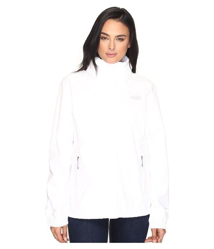 THE NORTH FACE THE NORTH FACE - RESOLVE JACKET (TNF WHITE/TNF WHITE (PRIOR SEASON)) WOMEN'S COAT. #thenorthface #cloth #